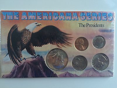 THE AMERICANA SERIES - THE PRESIDENTS - Five US Coins
