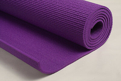 Purple Yoga Mat 6mm THICK 183CM X 610CM FREE BAG