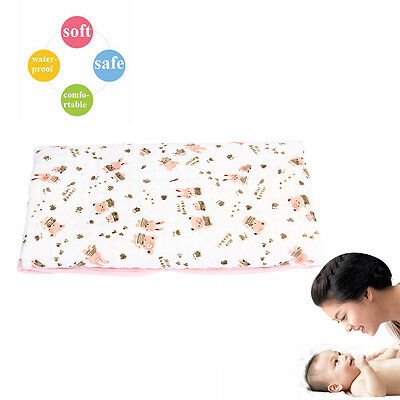 Baby/Infants Urine Mat/Changing Pad Cover Change Mat Diaper Bed Pink 70 * 50CM