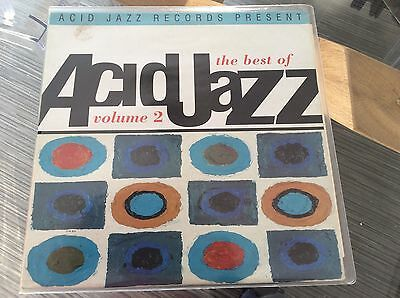 Vinyl Album Acid Jazz, Best of Volume 2