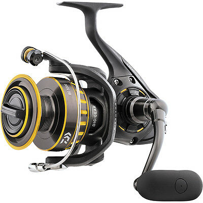 Daiwa BG Spinning Reel Suitable for Salt or Freshwater Fishing Front Drag