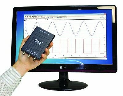 PicoScope 2204A-D2 two Channel 10 MHz USB Oscilloscope without probes