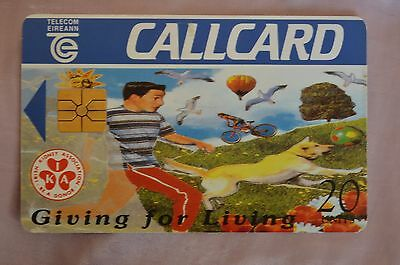 Collectable Phone Callcard - Giving For Living