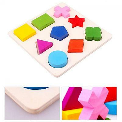 Geometry Baby Block Wooden Puzzle Educational Toy