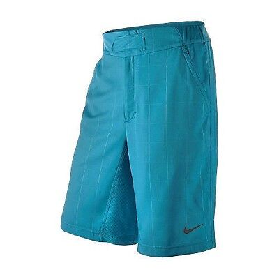 Nike Dri-Fit Men's Shorts Large Aqua Blue Clearance 347428 UK 36 Waist