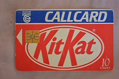 Collectable Phone Callcard - Kitkat