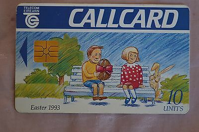 Collectable Phone Callcard - Easter 1993