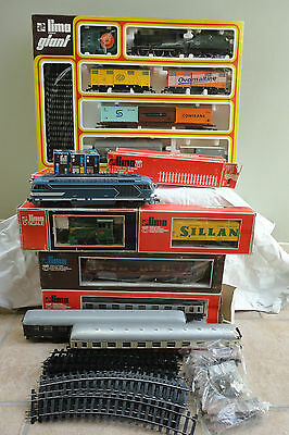 Stock Lotto Treni Elettrici Lima Scala O 1:45 ( Train O Gauge Spur Echelle )