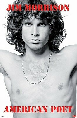 JIM MORRISON - AMERICAN POET POSTER - 22x34 - MUSIC BAND THE DOORS 5151