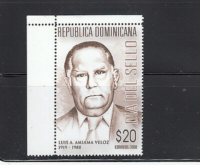 Dominican Republic 2008 Stamp Day Sc 1454  mint never hinged
