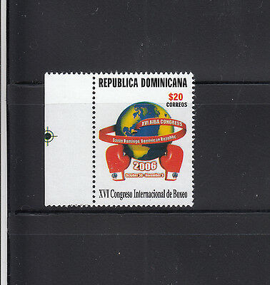 Dominican Republic 2006 Boxing Sc 1418  mint never hinged