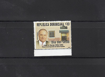 Dominican Republic 2006 Stamp Day Sc 1415  mint never hinged