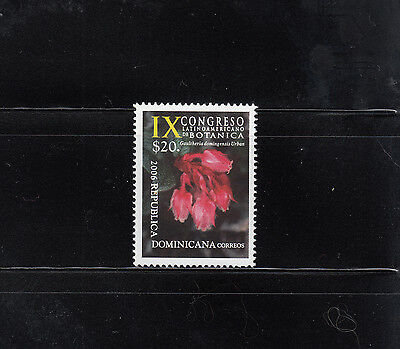 Dominican Republic 2007 Botany Sc 1422  mint never hinged