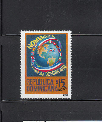 Dominican Republic 2008 Emmigration Sc 1452  mint never hinged