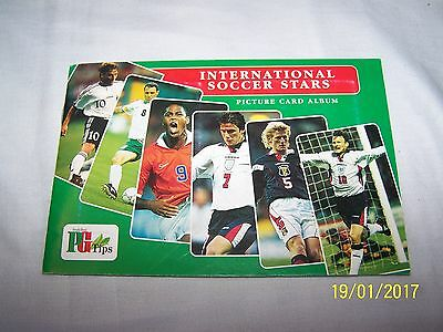 Brooke Bond Picture Cards Album, PG Tips International Soccer Stars - complete