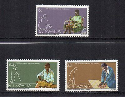 BOTSWANA - 1981, International Year of the Disabled, MNH