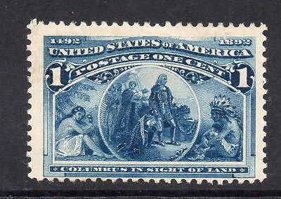 U.S.A. 1 Cent Columbus Stamp  c1893 Mounted Mint