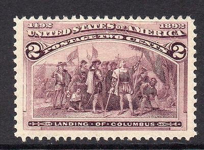 U.S.A. 2 Cent Columbus Stamp  c1893 Mounted Mint