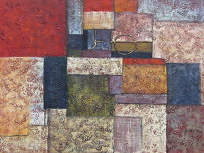 """Panazol Abstract Original Hand Painted 24""""x36"""" Oil Painting Contemporary Art"""