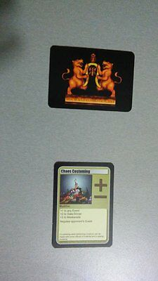 Discworld Convention 2014 Card Game Chaos Costuming Modifier Scissors Seamstress