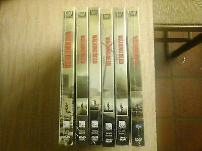 The Walking Dead - Stagioni 1 - 6 (25 DVD) - ITALIANI ORIGINALI SIGILLATI -