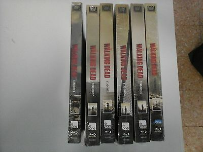 The Walking Dead - Stagioni 1 - 6 (25 Blu-Ray) - ITALIANI ORIGINALI SIGILLATI -