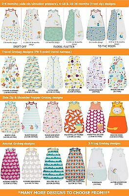 Grobag Baby Sleeping Bag Girls & Boys Design| 0.5/1.0/2.5/3.5 tog *Many Designs!