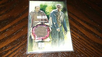 2016 Topps Walking Dead WALKER AUTHENTIC CLOTHING RELIC