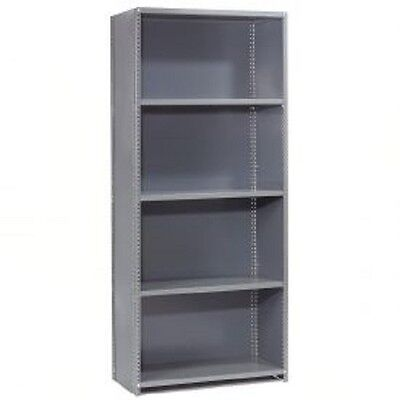 "NEW! Steel Shelving 20 Ga 36""Wx12""Dx73""H Closed Clip Style 5 Shelf!!"