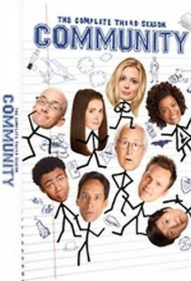 Community - Stagione 3 (3 DVD) - ITALIANO ORIGINALE SIGILLATO -