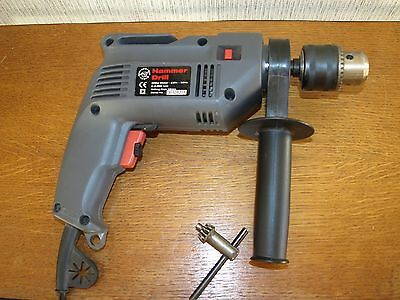 Performance Power 240V 500W Percussion Hammer Drill with variable speed