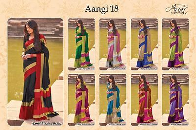 Indian designer Saree sari wedding Wear ethnic Traditional sari Bollywood rivaA