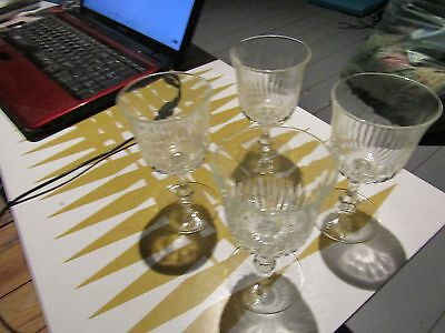 4 Vintage Glasses  [Small]