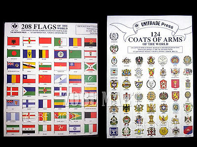 Flag & Coat Of Arms Of The World Collection. Fast Shipping.