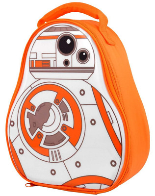 Star Wars Bb-8 Shaped Lunch Bag New Gift School