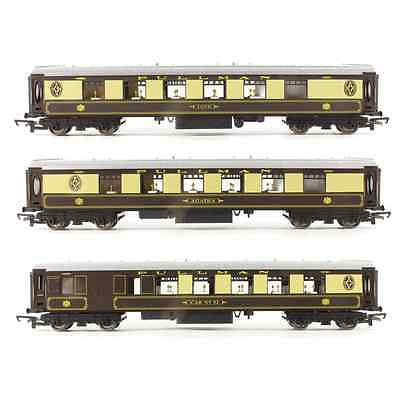 Hornby Set of 3x PULLMAN Coaches OO Gauge 1:76 Scale NEW FROM R1177