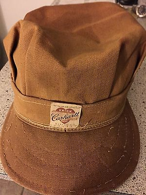 40Scarharttbrownduck Rr Cap.exc Cond.orig.labelw/union&tag S71/4But Bit Larger!