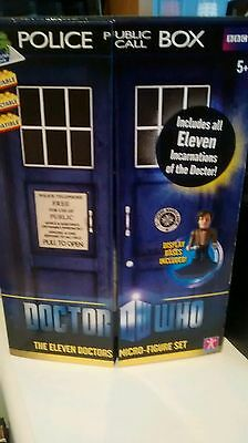 Doctor Who Character Building 11 doctors super rare set