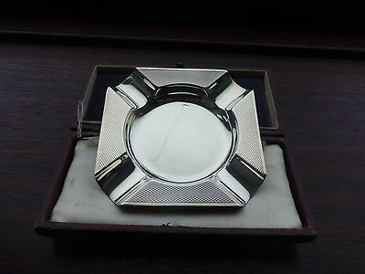 Fine Sterling Silver Ashtray Mappin & Webb