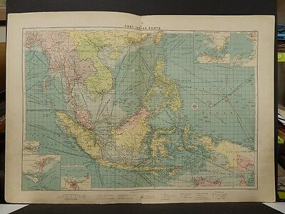 Mercantile Marine Atlas 1914 East Indian Ports R4#70