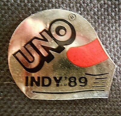 1989 Indy 500 Uno Racing Pin