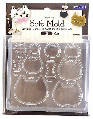 Padico Soft Mold Resin & Clay CAT UV Resin Made In JAPAN