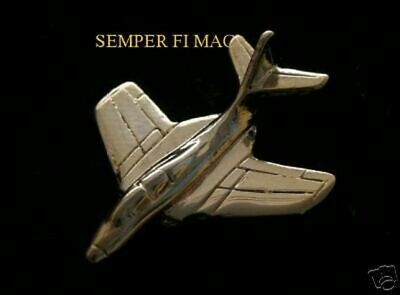 F9F Cougar Grumman Gold Hat Lapel Pin Made In Us Marines Pilot Crew Wing Maw Wow