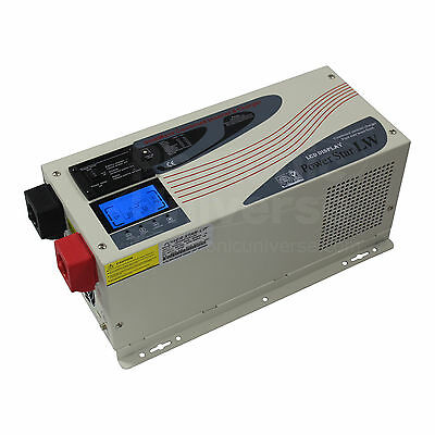 3000W 24V low frequency inverter battery charger, UPS LCD 3kW 24 volt peak 9kW