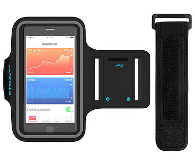 eTEKNIC Sports Running Jogging Armband Arm Band Case Holder Cover For iPhone 7