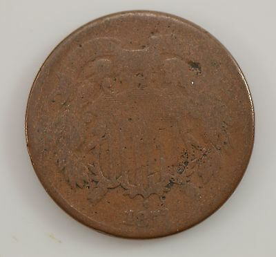 1871 Two-Cent Piece *G17