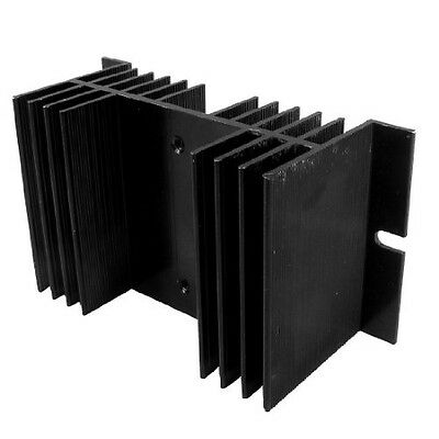 Sourcingmap Replacement Single-phase Solid State Relay SSR Heat Sink Black