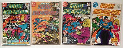 Superboy And The Legion Of Super-heroes Lot Of 4 Comic Books, #227 To 231, DC