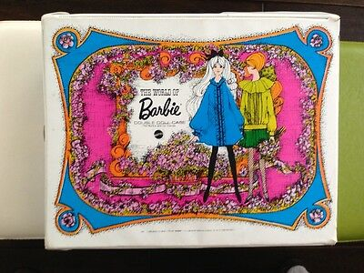 Vintage 1968 World Of Barbie Double Doll Case
