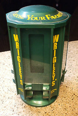 1940's- 50's Wrigley's revolving chewing gum merchant display carousel diner